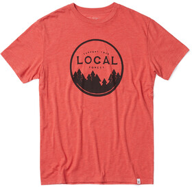 tentree Support Your Forest T-Shirt Men Baked Apple Red